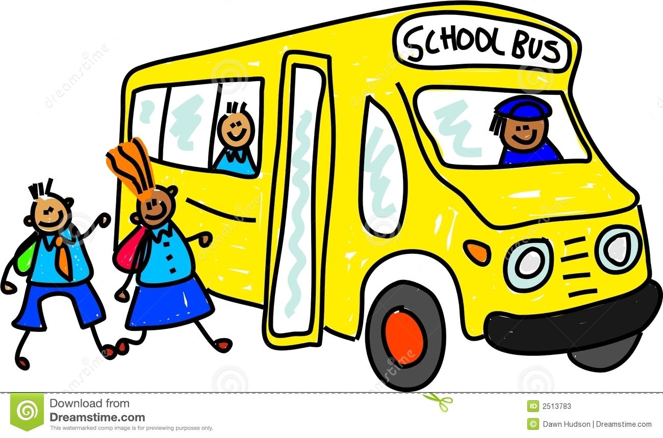 1300x859 School Bus Clipart