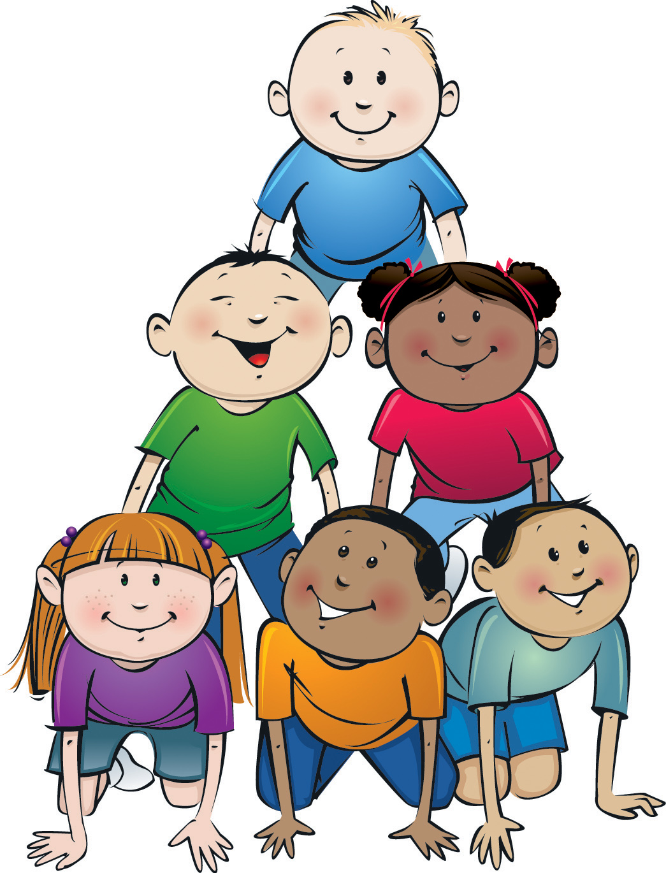 1045x1370 School Children Clipart