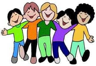 326x223 Children Singing Clipart