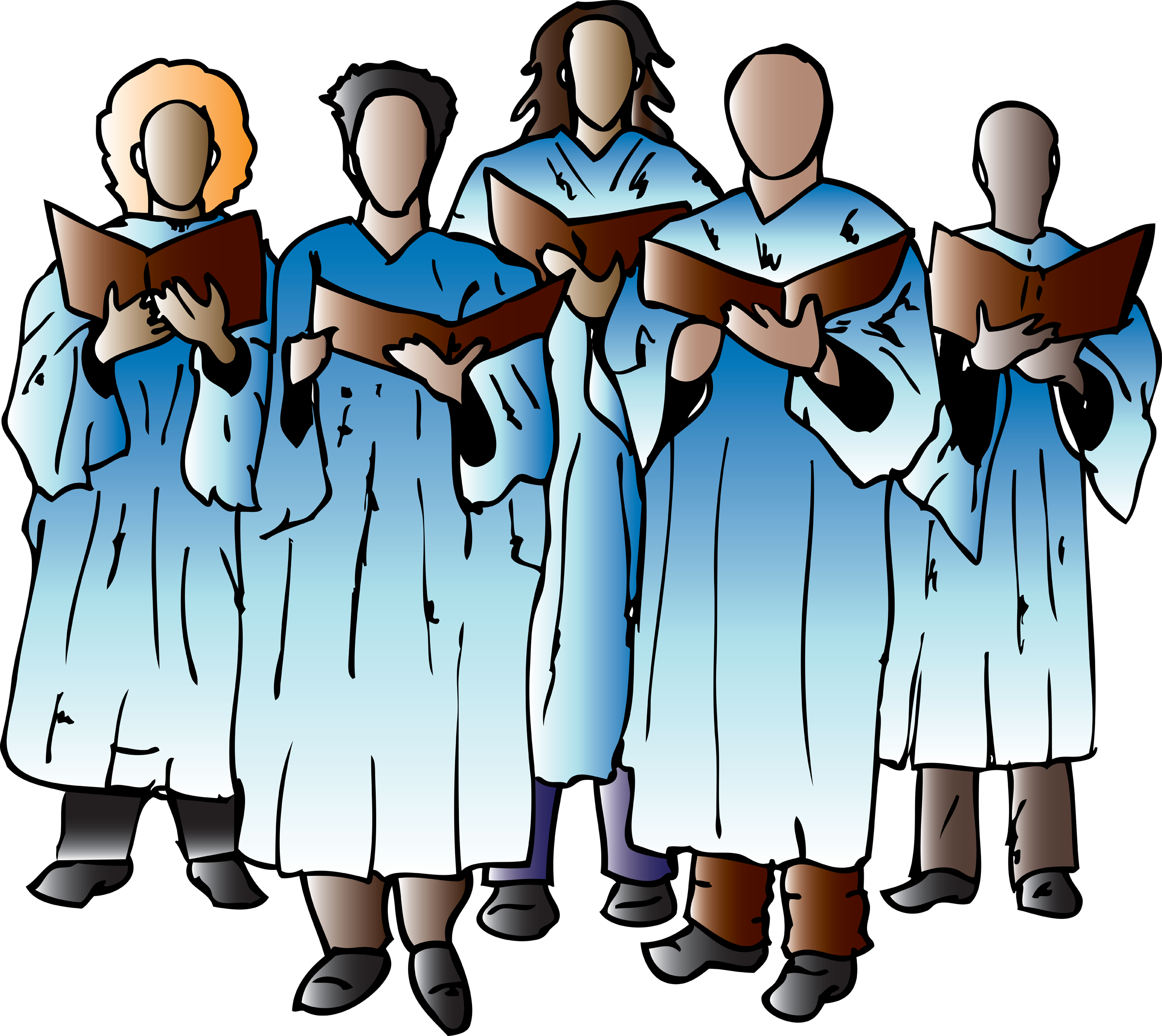 2400x2140 Free Choir Clipart Pictures