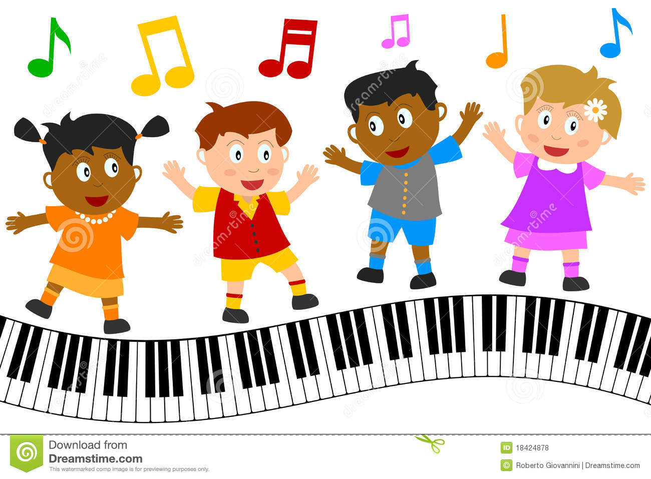 1300x957 Kids Singing And Dancing Clipart