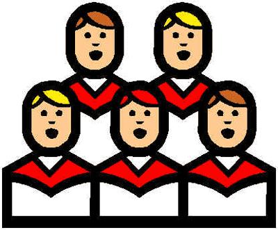 400x331 Kids Singing Clip Art