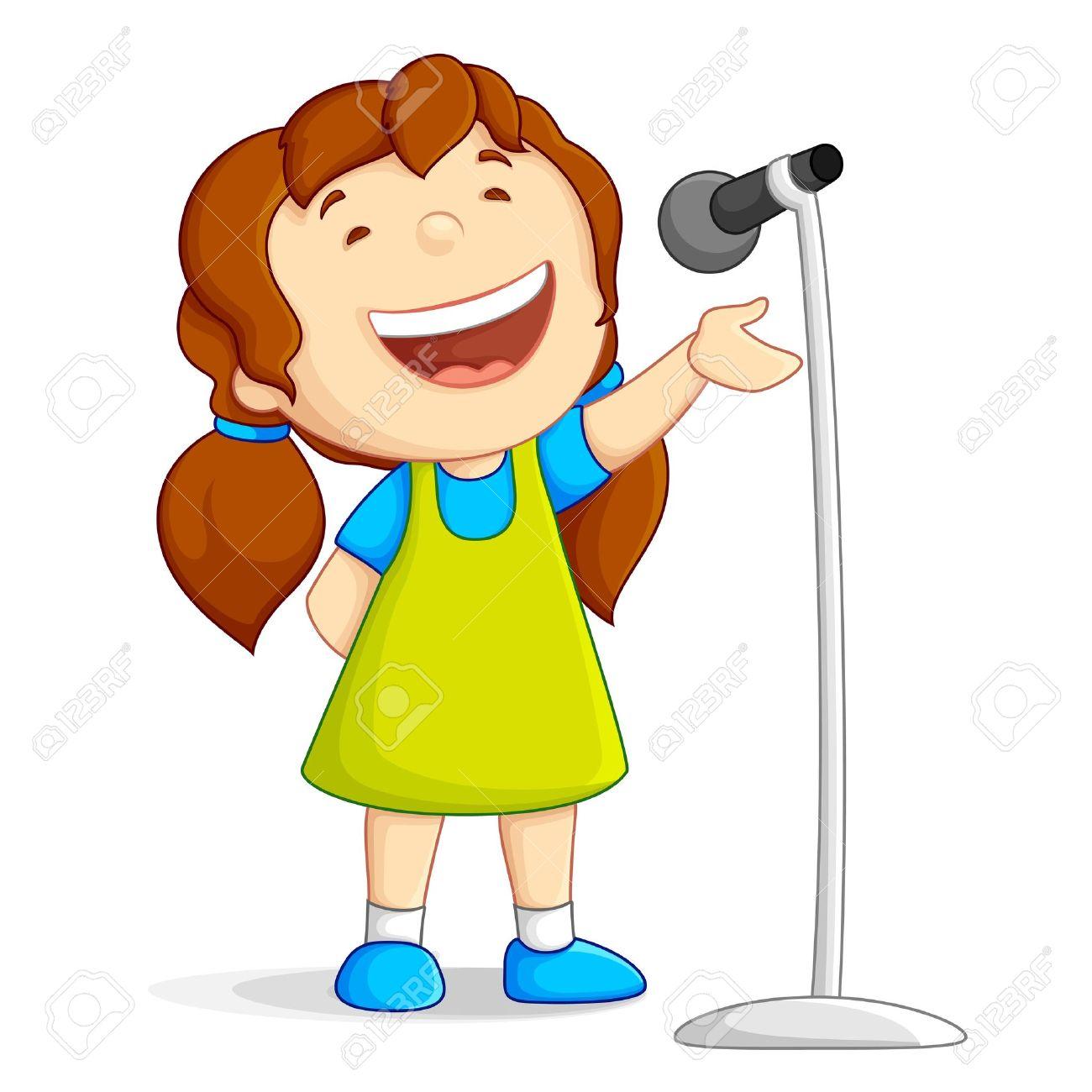 1300x1300 Kids Singing Clipart