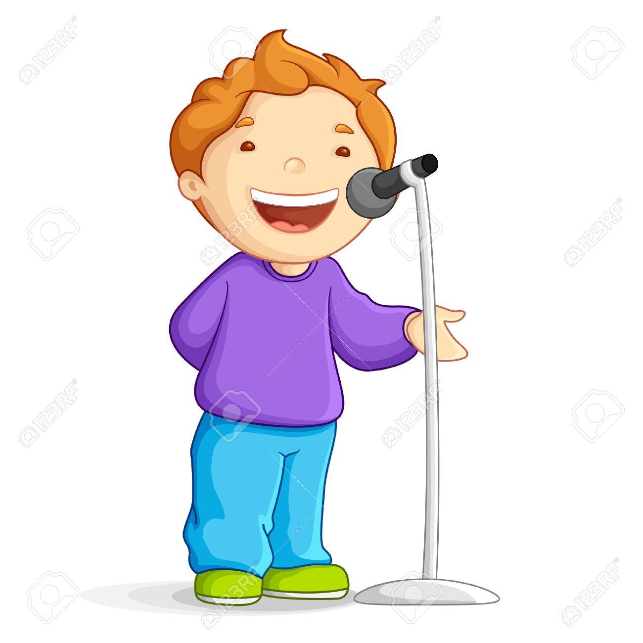 1300x1300 Boy And Girl Singing Clipart