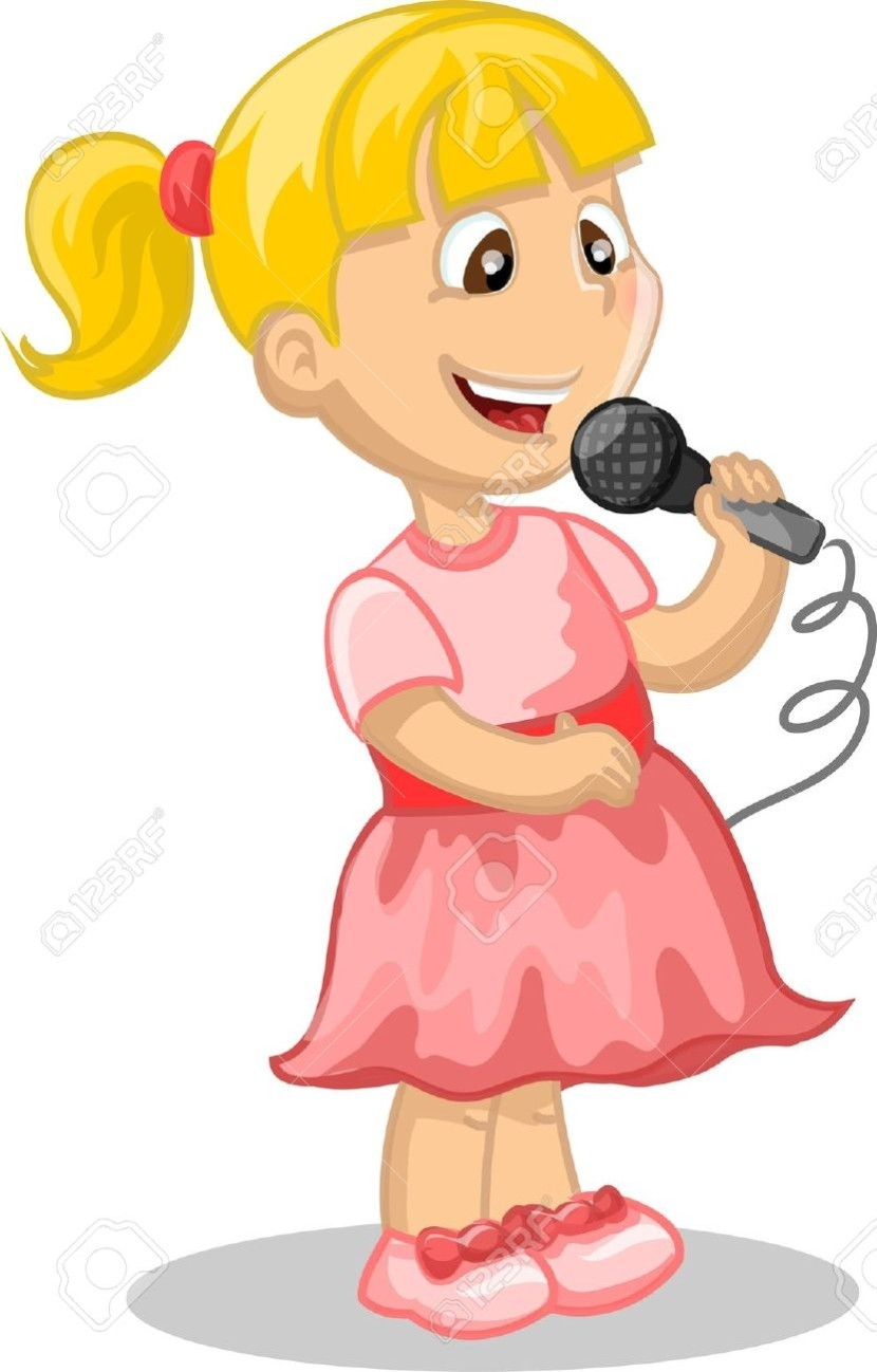830x1298 Singing Clipart Png