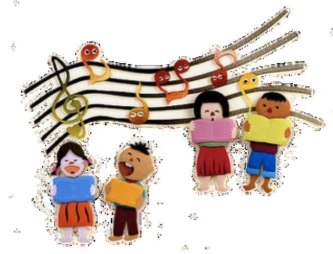 664x507 Best Children Singing Clipart