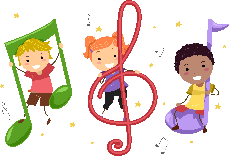 6154x4187 Best Children Singing Clipart