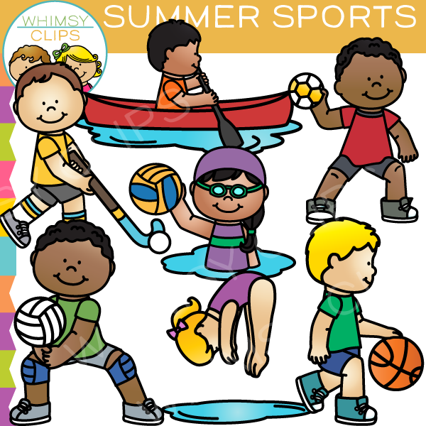 600x600 Summer Clipart Summer Sport