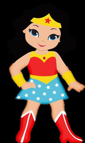 286x478 Wonder Woman Clip Art