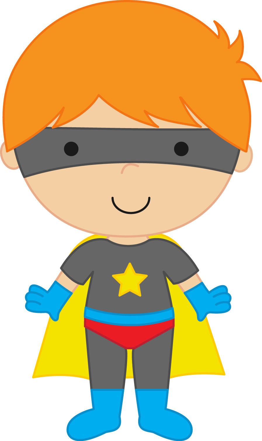 897x1511 Boy Clipart Superhero