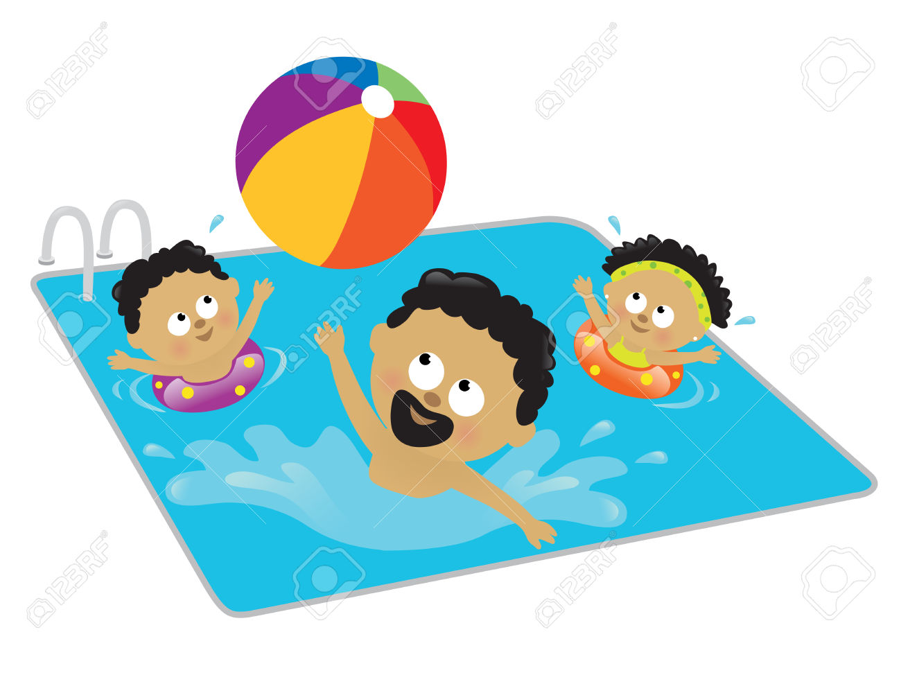Kids Swim Clipart | Free download on ClipArtMag