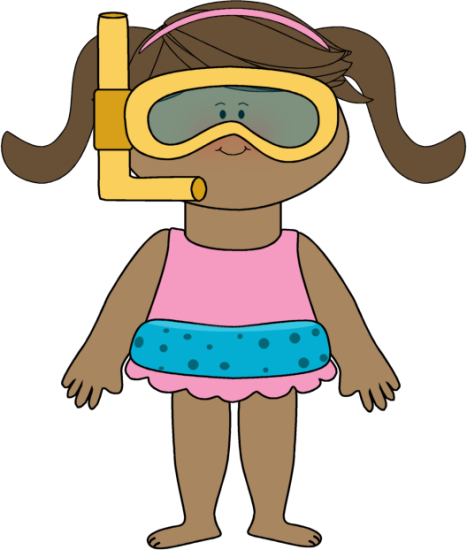 467x550 Swimming Clipart Kid Swimsuit
