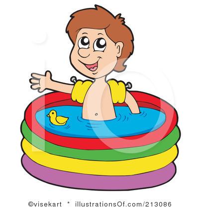 400x420 Swimming Clipart Kids