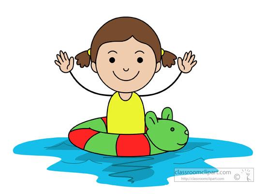 550x400 Swimming Clipart Child Swimming