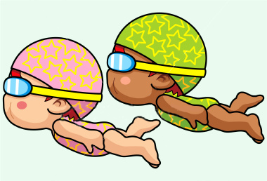 380x258 Swimming Clipart Learn To Swim