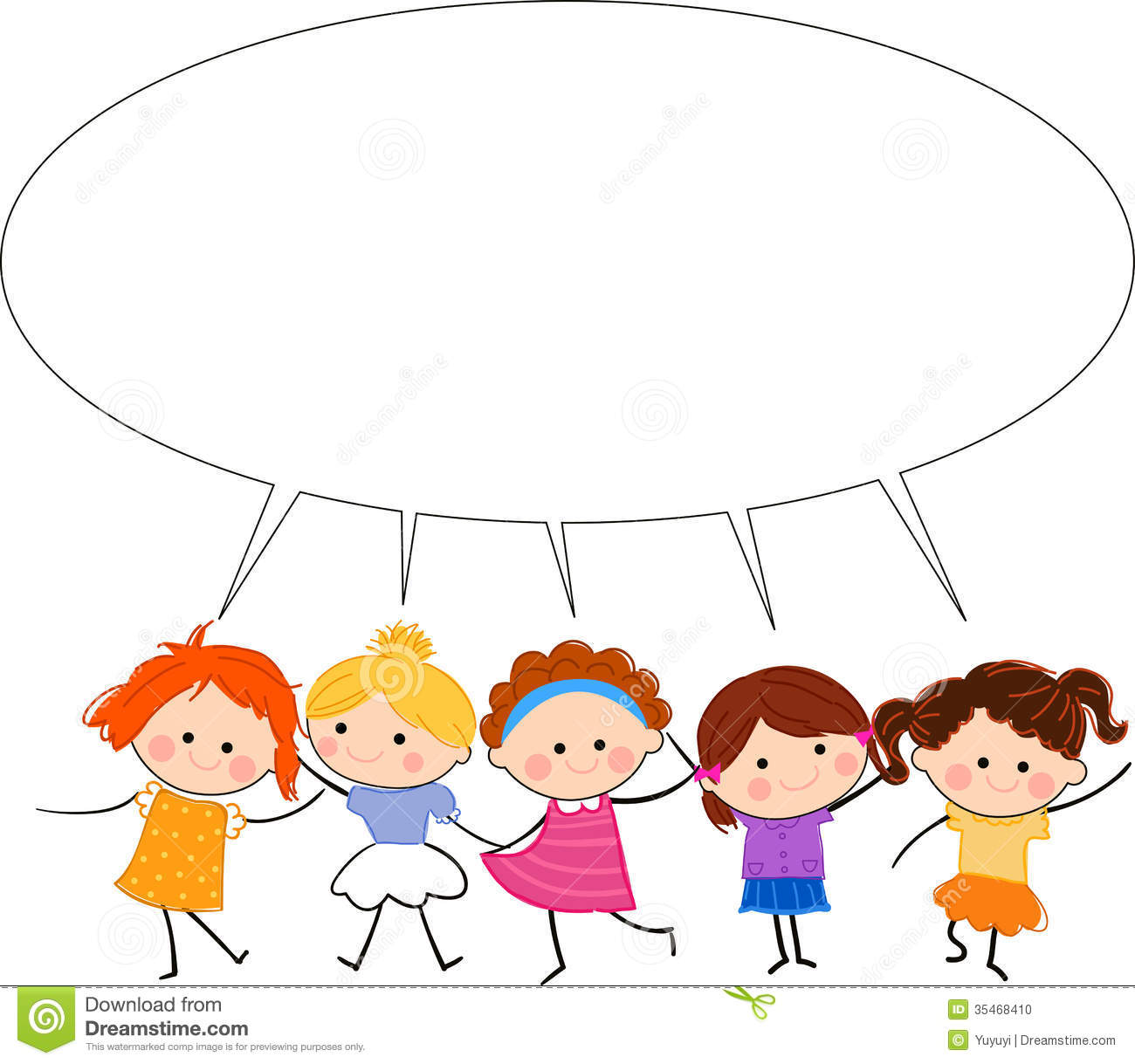 1300x1219 Child Clipart Talking Together