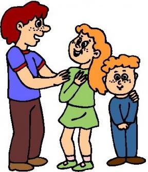 288x335 Clipart Children Talking