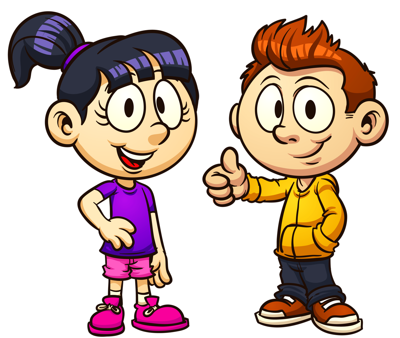 Kids Talking To Each Other Clipart | Free download on ...