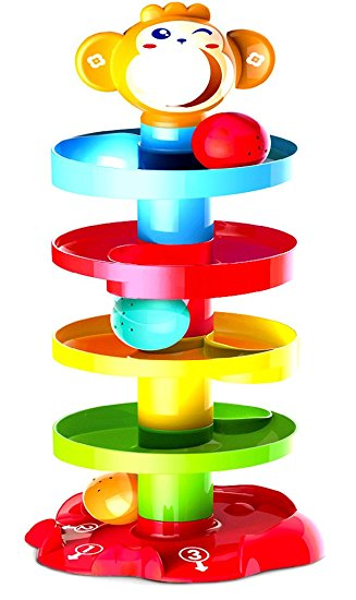 327x550 Activity Roll N Swirl Ball Ramp Educational Puzzle