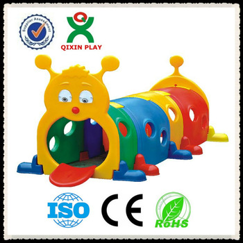 350x350 Playground Padding Kids Toys Used Plastic Play Tunnel For Sale (Qx
