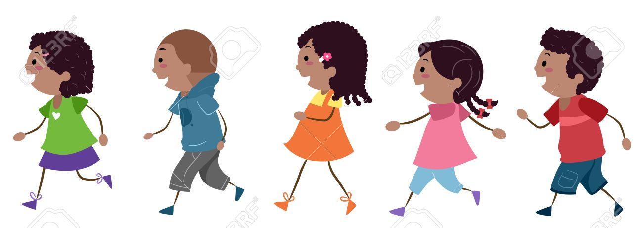 1300x461 Children Walking Clipart 101 Clip Art