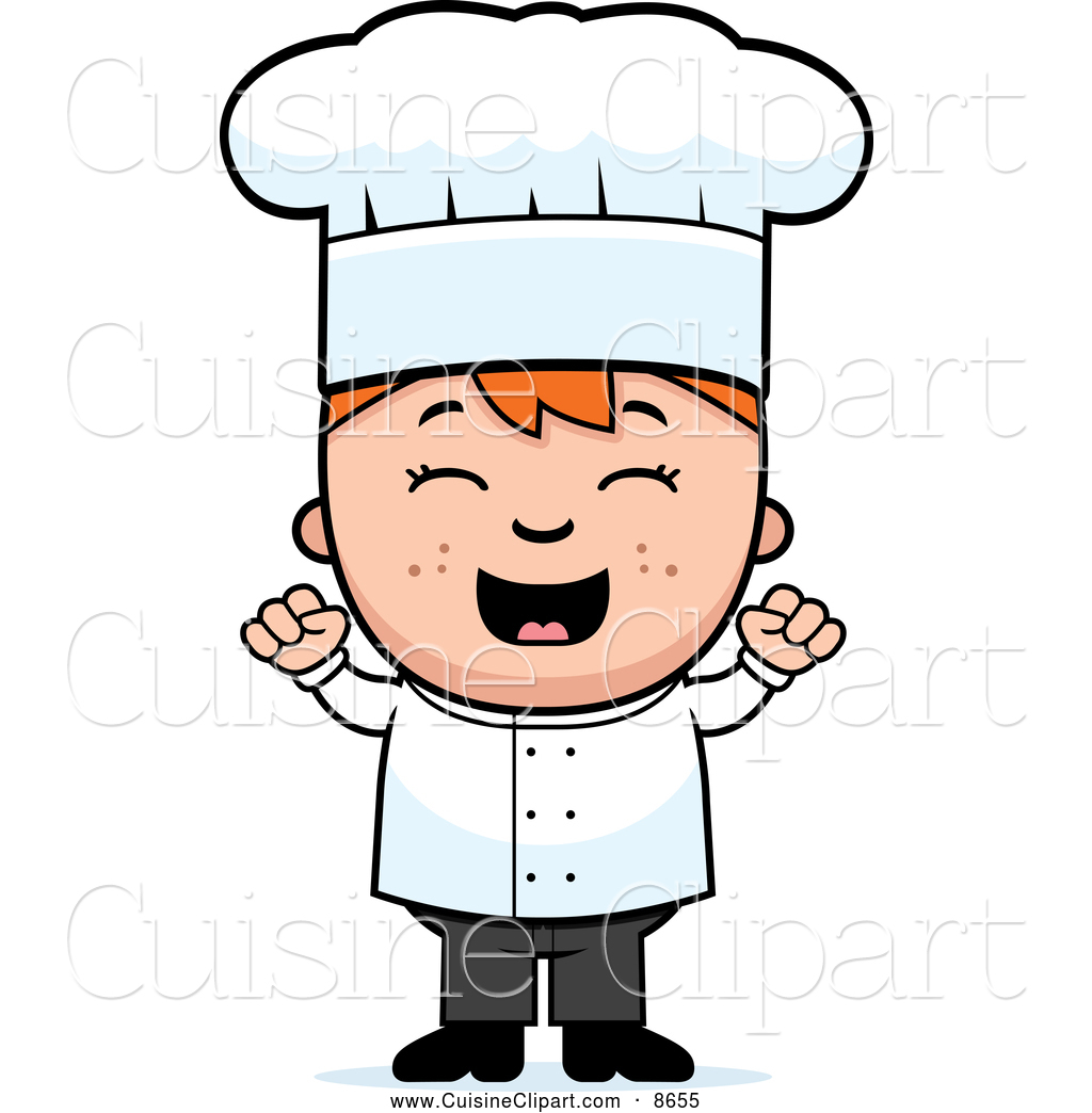 1024x1044 Cuisine Clipart Of A Cheering Chef Boy By Cory Thoman