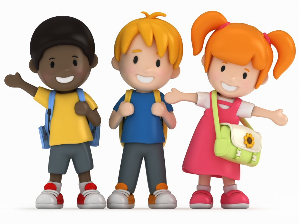 1024x768 Animated Kids Clipart