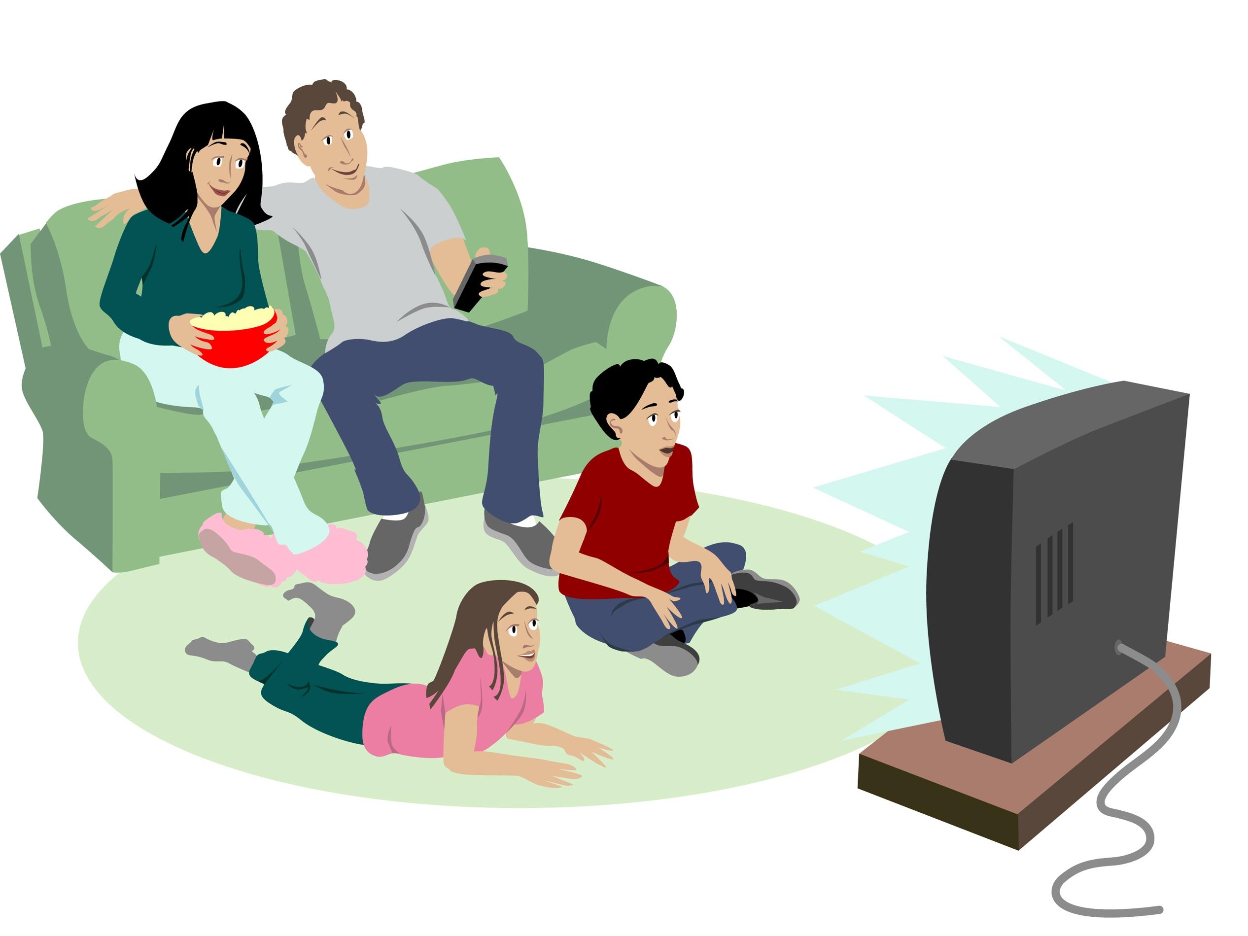 2532x1899 Movie Clipart Movie Watching