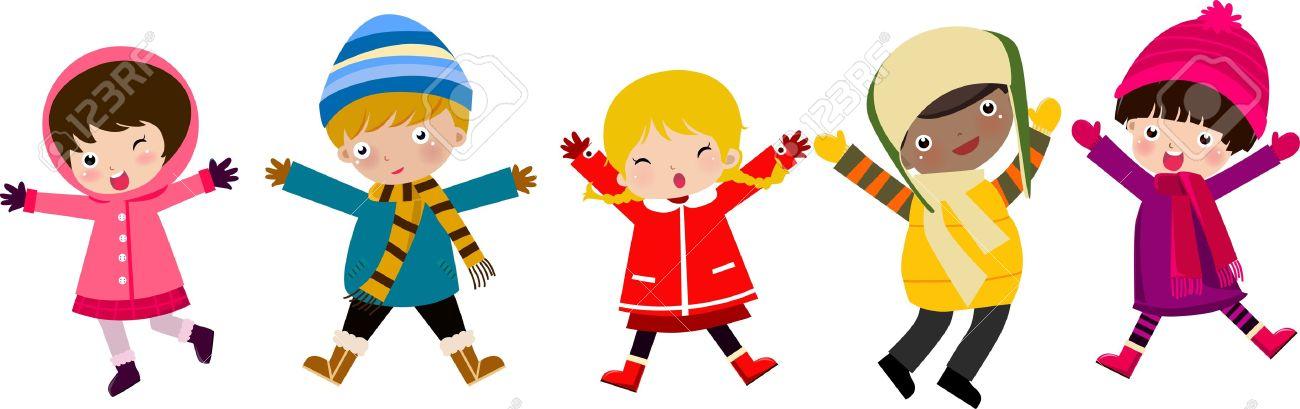 Kids Winter Clipart | Free download best Kids Winter ...