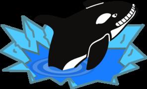 296x180 Killer Whale Clip Art