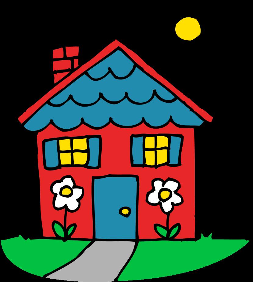 830x923 Hosue Clipart Kindergarten