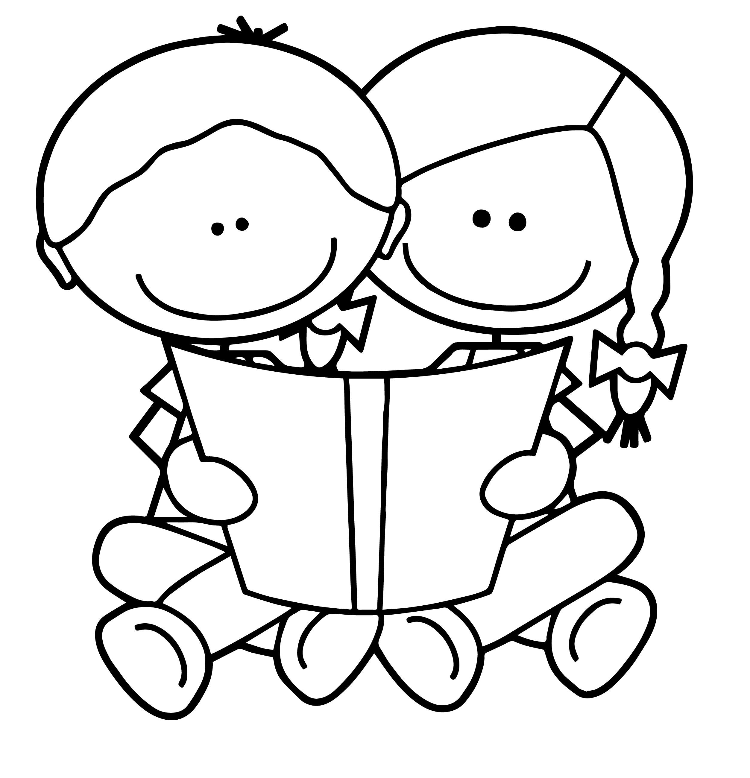 2506x2600 Kindergarten Reading Clipart