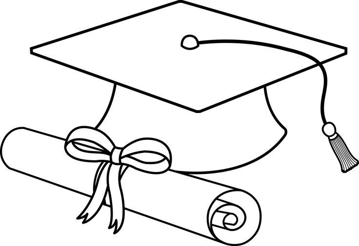 736x505 Free Printable Kindergarten Graduation Clipart