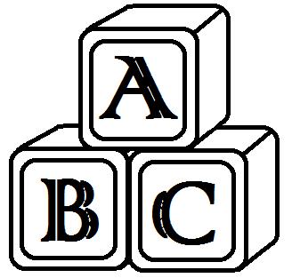 328x313 Abc Blocks Clip Art