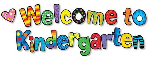 504x195 Welcome To Kindergarten Clipart Clipart Panda