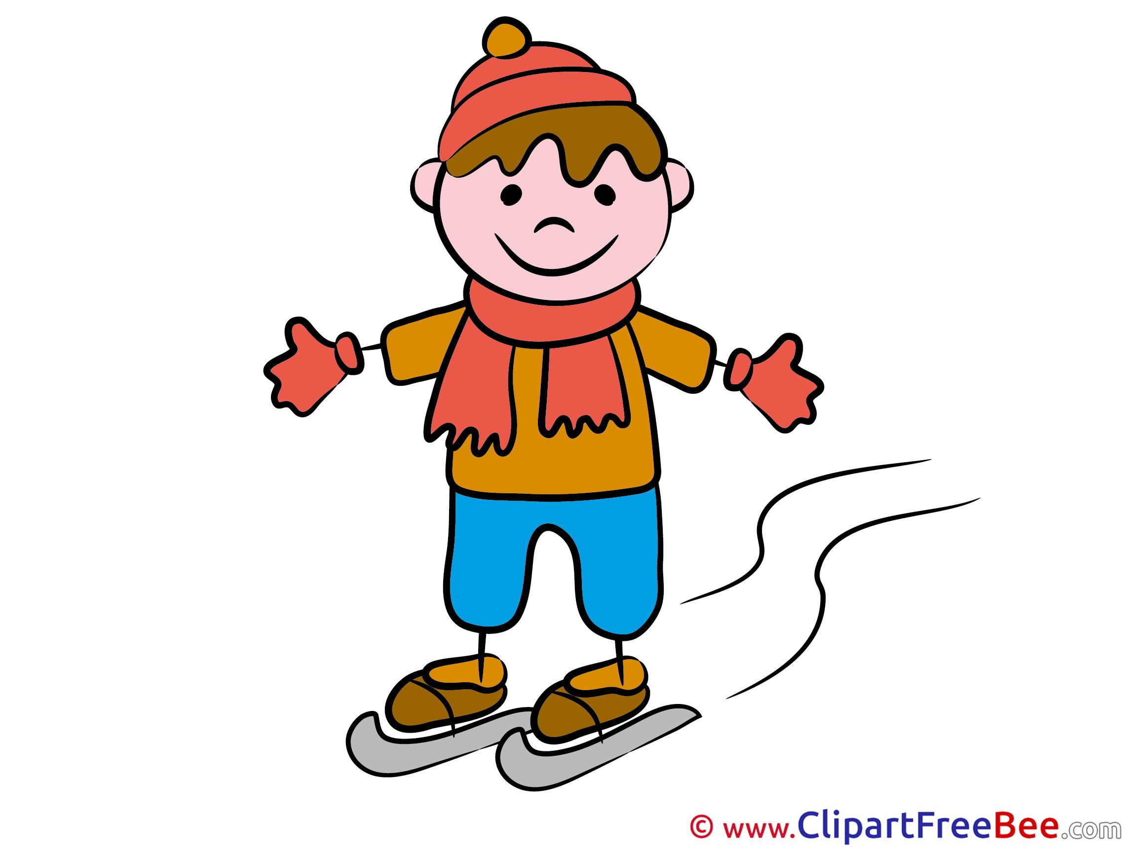 2300x1725 Winter Sport Boy Clipart Kindergarten Free Images
