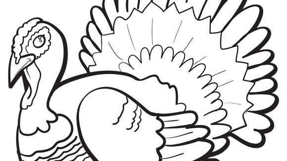 580x326 Coloring Pages And Activities Thanksgiving