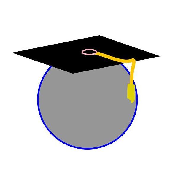 600x600 Kindergarten Graduation Border Clip Art