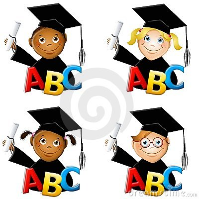 400x400 Kindergarten Graduation Free Clipart