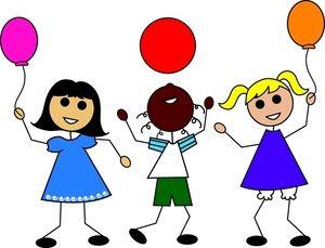 300x229 Kindergarten Girl Clipart Art For Children And Play Day