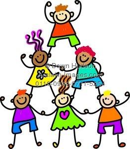 262x300 Kindergarten Kids Clipart