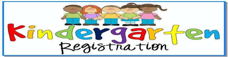 750x188 Kindergarten Registration Clipart