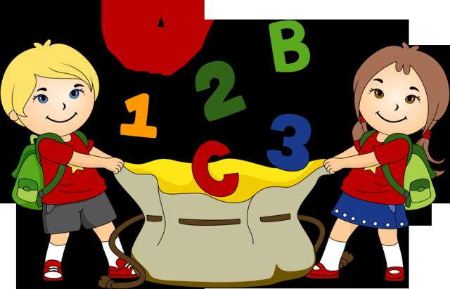 640x411 Bag Clipart Kindergarten