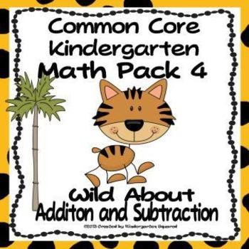 350x350 Addition And Subtraction Common Core Kindergarten Math Unit 4 Tpt
