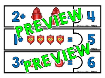 350x262 Fire Safety Kindergarten Math, Addition Counting On Strategy By