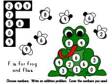 222x172 Frog Math Ideas