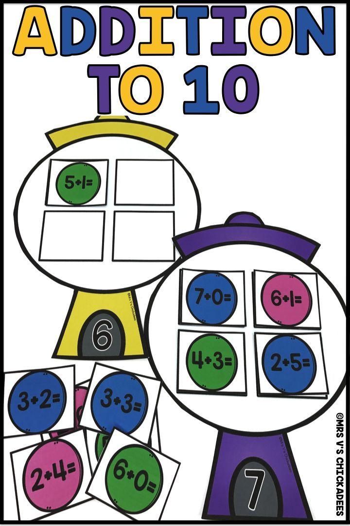 720x1081 146 Best Kindergarten Addition Images Hands