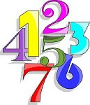 300x348 Number Clipart Math