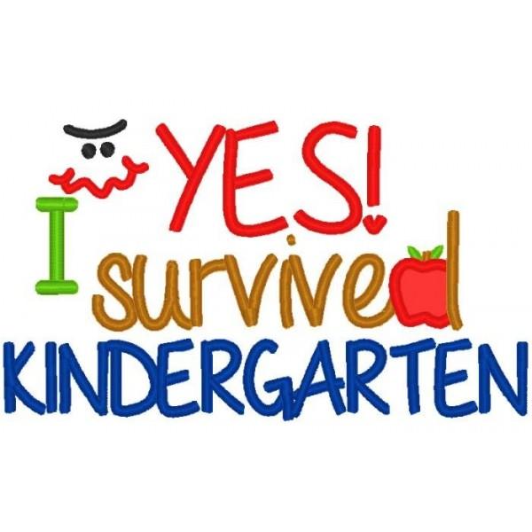 600x600 I Survived Kindergarten