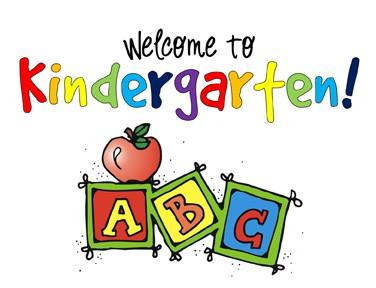 376x288 Welcome To Kindergarten Clipart